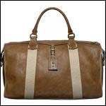 Фото модная мужская сумка кожаная дорожная