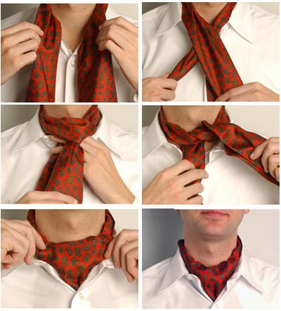 Как завязать галстук: наглядные способы. Фото, видео галстук бабочка мужской шейный платок аскот