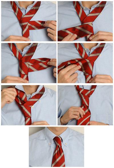 Как завязать галстук: наглядные способы. Фото, видео