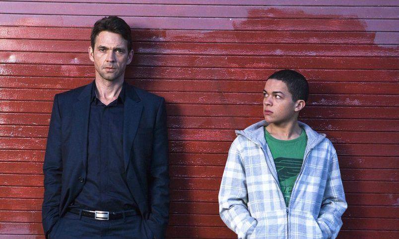 Отец и сын подросток